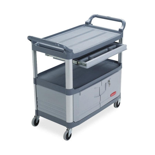 Rubbermaid Instrument Cart RCP409400, Gray (UPC:086876145069)