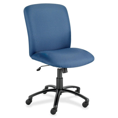 Safco Big & Tall Executive High-Back Chair SAF3490BU, Blue (UPC:073555349054)