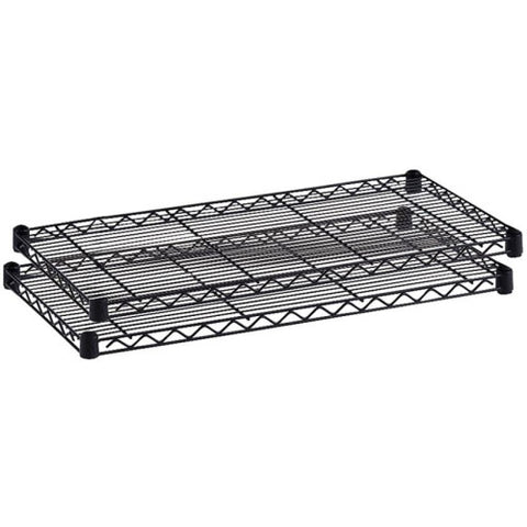 Safco Industrial Wire Extra Shelf SAF5296BL, Black (UPC:073555529623)