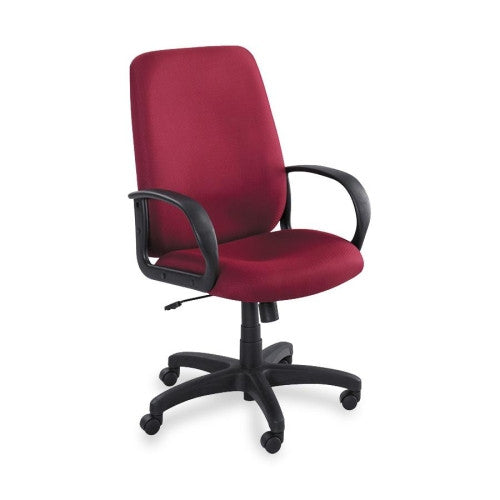 Safco Poise Collection Executive High-Back Chair SAF6300BG, Burgundy (UPC:073555630015)