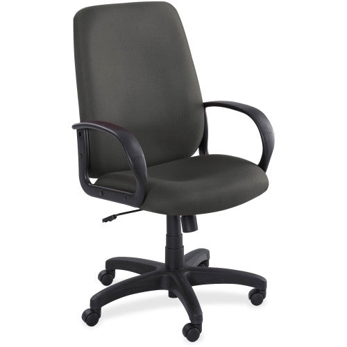 Safco Poise Collection Executive High-Back Chair SAF6300BL, Black (UPC:073555630022)