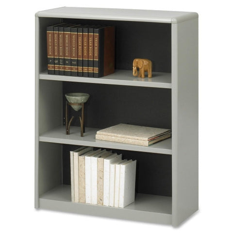Safco ValueMate Bookcase SAF7171GR, Gray (UPC:073555717136)