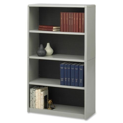 Safco ValueMate Bookcase SAF7172GR, Gray (UPC:073555717235)