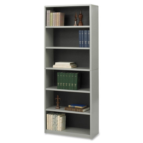 Safco Value Mate Bookcase SAF7174GR, Gray (UPC:073555717433)