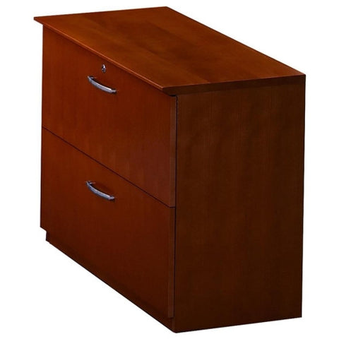 Mayline Corsica Two-Drawer Lateral File MLNVLFCRY, Cherry (UPC:760771652302)
