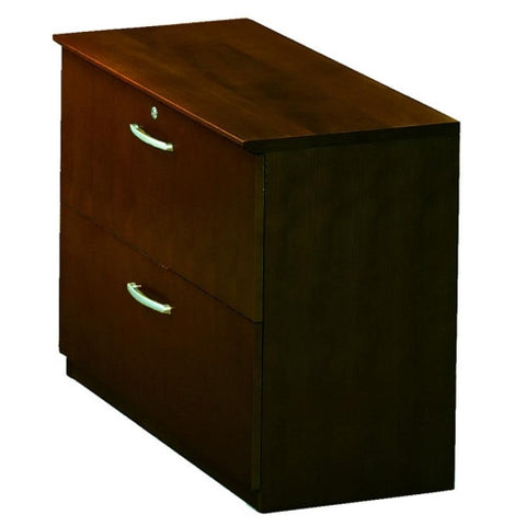 Mayline Corsica Two-Drawer Lateral File MLNVLFMAH, Mahogany (UPC:760771652319)