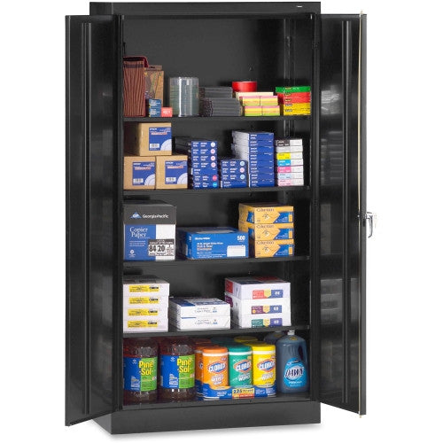 Tennsco Full-Height Standard Storage Cabinet TNN7218BK, Black (UPC:447671008209)