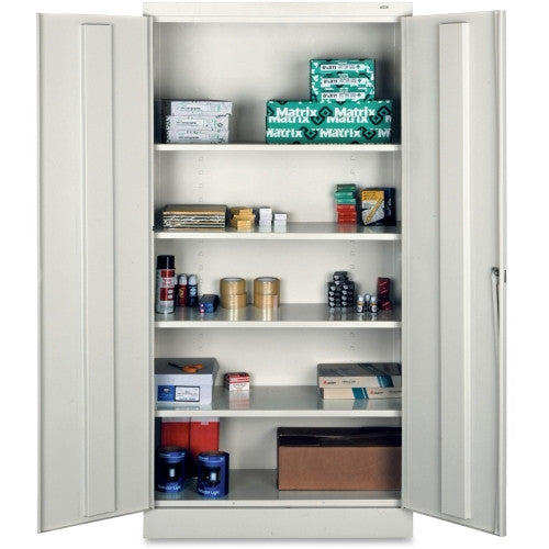 Tennsco Full-Height Standard Storage Cabinet TNN7218LGY, Gray (UPC:447671099849)