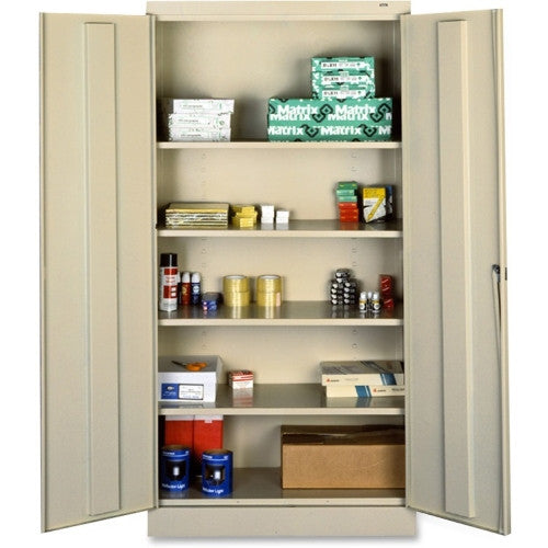 Tennsco Full-Height Standard Storage Cabinet TNN7218PY, Putty (UPC:447671027323)