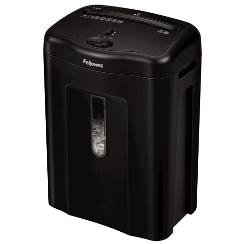 Fellowes Powershred® 11C Cross-Cut Shredder ; UPC 043859697229