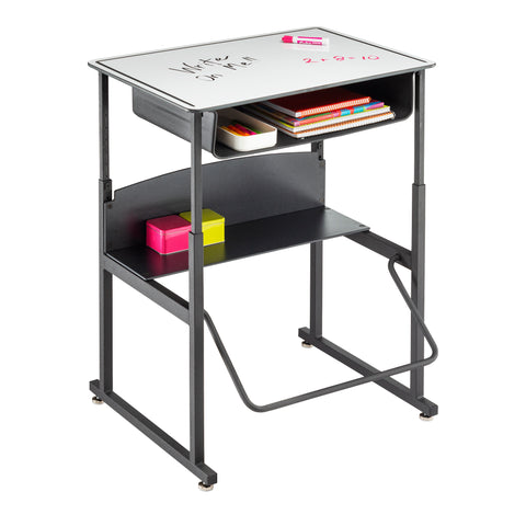 "Safco Products AlphaBetter Adjustable-Height Stand-Up Desk, 28 x 20"" 1204DE Image 6"