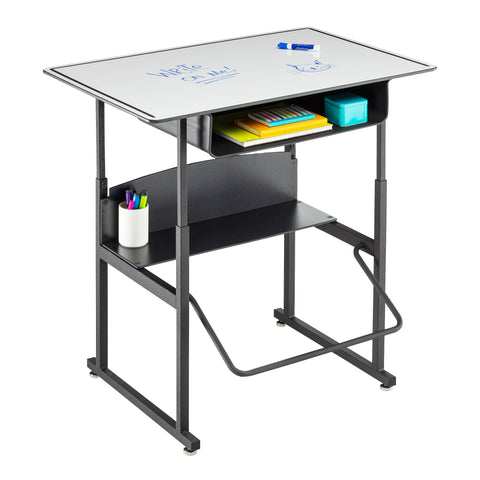 "Safco Products AlphaBetter Adjustable-Height Stand-Up Desk, 36 x 24"" 1209DE Image 3"