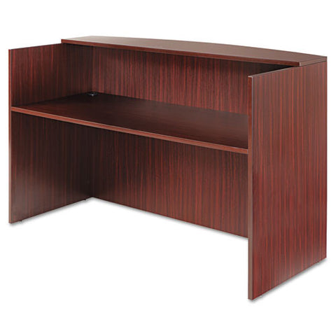 Alera Valencia Series Reception Desk with Transaction Counter ALEVA327236MY,  (UPC:042167303105)