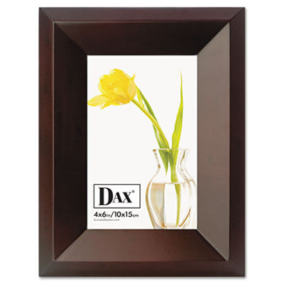 Dax Executive Espresso Wood Document Frame ; (076795310051); Color:Espresso