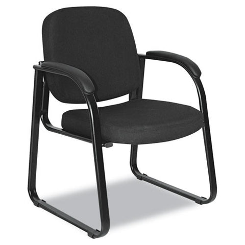 Alera Genaro Series Half-Back Sled Base Guest Chair ALERL43C11,  (UPC:042167381004)