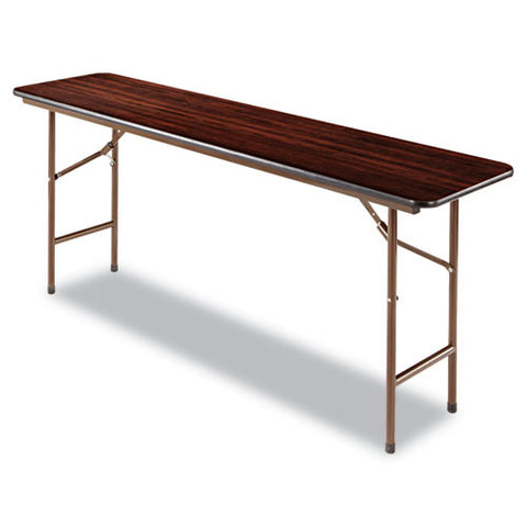 Alera Wood Folding Table ALEFT727218WA,  (UPC:042167200039)