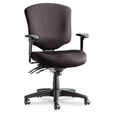 Alera eOfficeDirect Pro Series Mid-Back Multifunction Chair w/ Glides