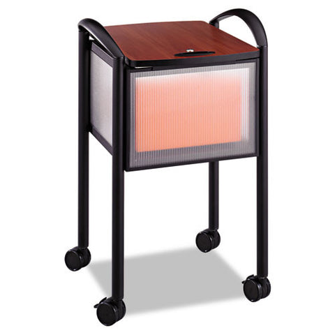 Safco Impromptu Mobile File Cart SAF5374BL, Black (UPC:073555537420)