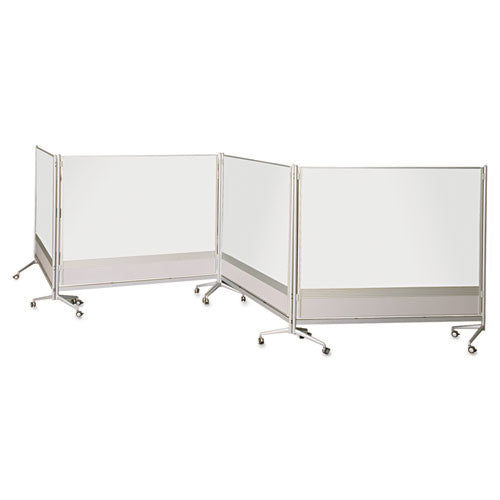 MooreCo Mobile Dry Erase Double-sided Partition BLT74764,  (UPC:703673747646)