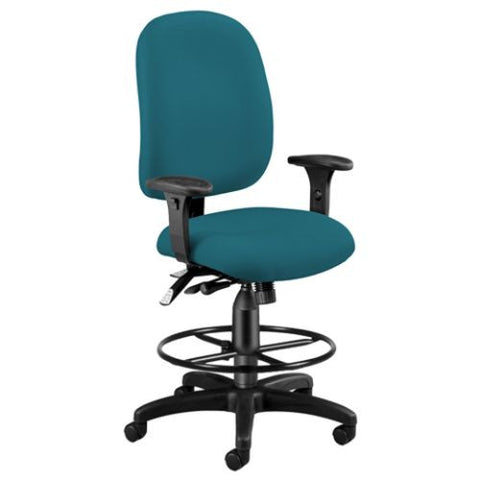 OFM Ergonomic Task Chair with Drafting Kit ; UPC: 845123025734