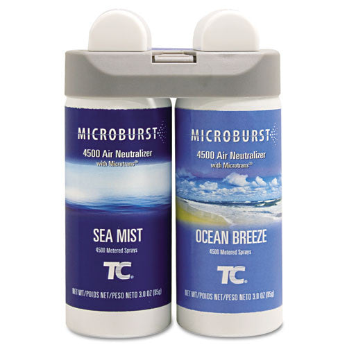 Rubbermaid 3485951 Microburst Duet Ocean Breeze/Sea Mist ; (086876206371)