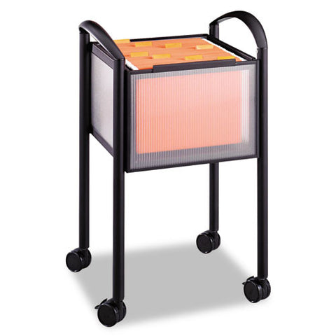 Safco Impromptu Mobile File Cart SAF5375BL, Black (UPC:073555537529)