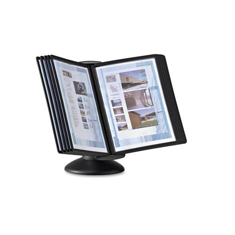 Durable Sherpa Motion Desk System DBL553901, Black (UPC:616528900632)