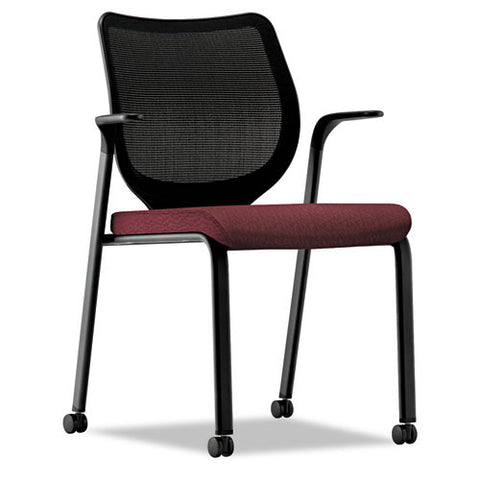 HON Iliria-stretch M4 Multipurpose Stacking Chair HONN606NT69, Red (UPC:641128432795)