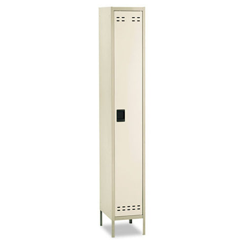 Safco Single-Tier Two-tone Locker with Legs SAF5522TN, Tan (UPC:073555552263)