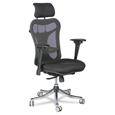 MooreCo Ergo Ex Ergonomic Office Chair BLT34434, Black (UPC:717641344348)