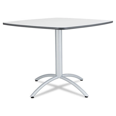 "Iceberg CafeWorks 36"" Square Cafe Table ICE65617, Gray (UPC:674785656174)"