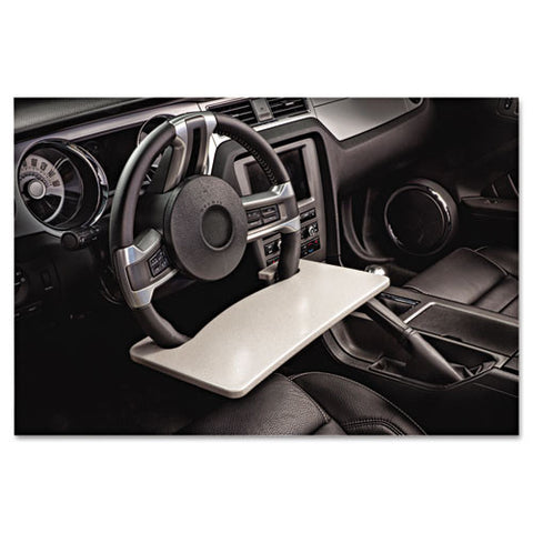 AutoExec WheelMate Steering Wheel Auto Desk AUE13000, Gray (UPC:744870130008)