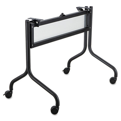 "Safco Impromptu 48"" Mobile Training Table Base SAF2030BL, Black (UPC:073555203028)"