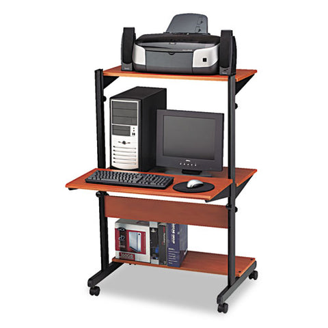 Mayline Eastwinds Soho Adjustable Computer Workstation MLN8432SOMECBLK ; UPC: 760771829032
