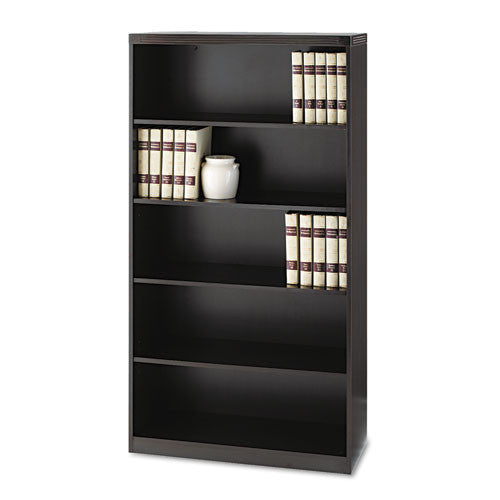 Mayline Aberdeen Series Bookcase MLNAB5S36LDC, Brown (UPC:760771874575)