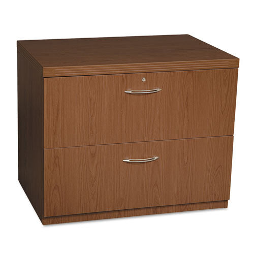 Mayline Aberdeen Series Lateral File MLNAFLF36LDC, Brown (UPC:760771874582)