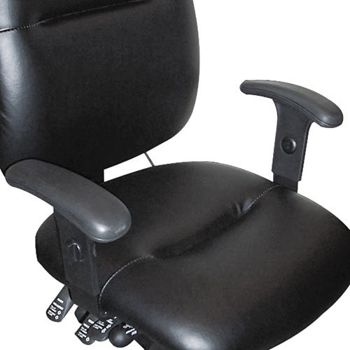 "Mayline Adjustable ""T"" Chair Arm MLN12ADJARM, Black (UPC:760771000394)"