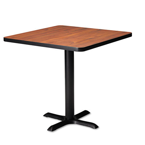 Mayline Bistro Tables Black X-Shaped Base MLNCA28B2025,  (UPC:760771944018)