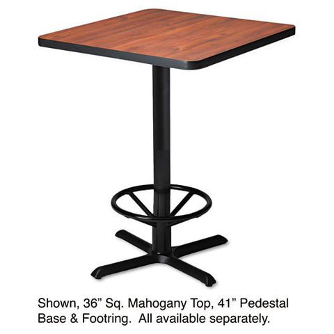 Mayline Bistro Tables Black X-Shaped Base MLNCA41B2025,  (UPC:760771944032)