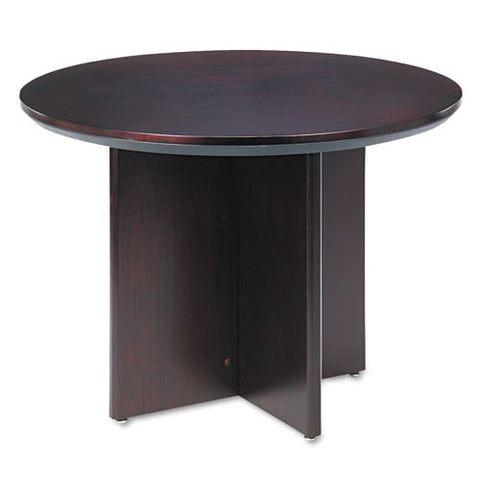 Mayline Corsica Series Round Conference Table MLNCTRNDMAH,  (UPC:760771674342)