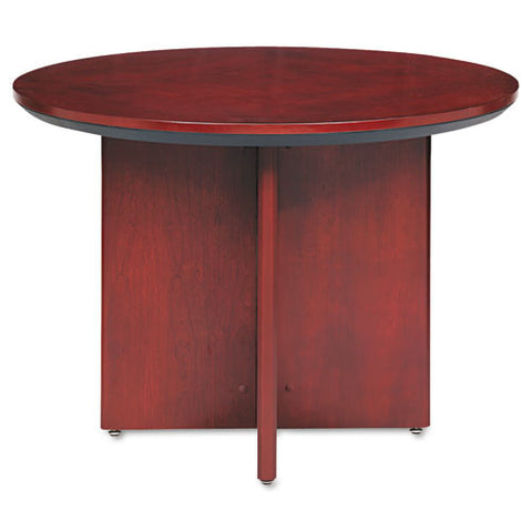 Mayline Corsica Veneer Round Table MLNCTRNDCRY, Cherry (UPC:760771674335)