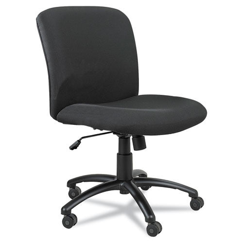 Safco Big & Tall Executive Mid-Back Chair SAF3491BL, Black (UPC:073555349122)