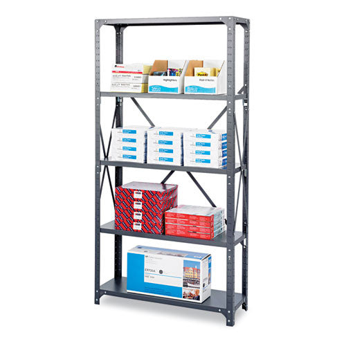 Safco Commercial Shelf Kit SAF6266, Gray (UPC:073555626605)