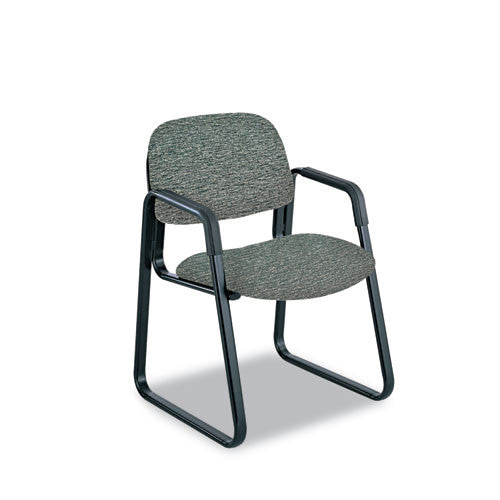 Safco Cava Urth Series Sled Base Guest Chair SAF7047GR,  (UPC:073555704730)