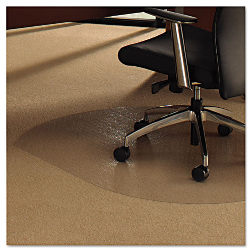 Floortex Contoured Chair Mat FLR119923SR, Clear (UPC:874951001207)