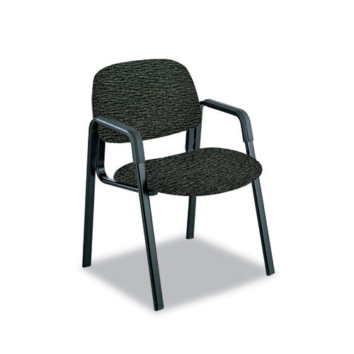 Safco Cava Urth Series Straight Leg Guest Chair SAF7046BL, Black (UPC:073555704624)