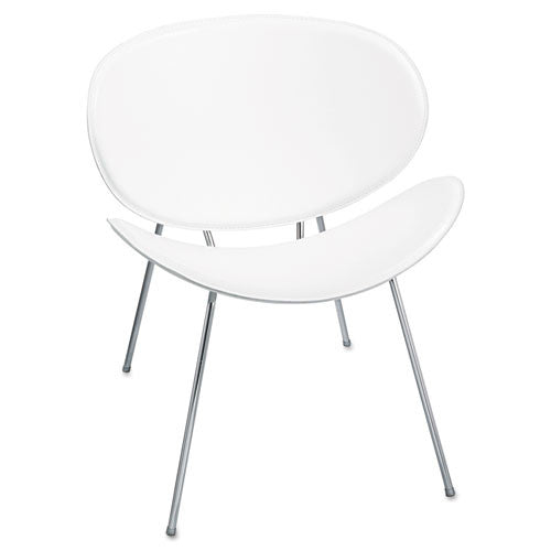 Safco Sy 3563 Guest Chair SAF3563WH, White (UPC:073555356397)