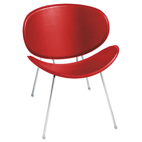 Safco Sy 3563 Guest Chair SAF3563RD, Red (UPC:073555356311)