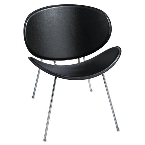 Safco Sy 3563 Guest Chair SAF3563BL, Black (UPC:073555356328)