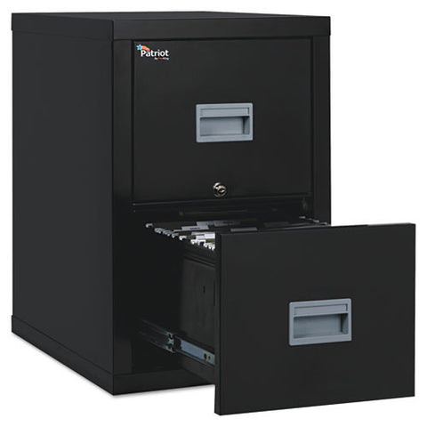 FireKing Patriot Series 2-Drawer Vertical Files FIR2P1825CBL, Black (UPC:033983078612)